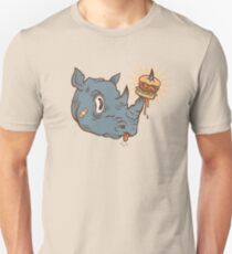 Rhino Burger YUM! Slim Fit T-Shirt
