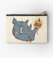 Rhino Burger YUM! Zipper Pouch