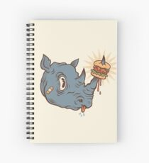 Rhino Burger YUM! Spiral Notebook