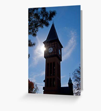 Clock Tower in Kentucky Greeting Card