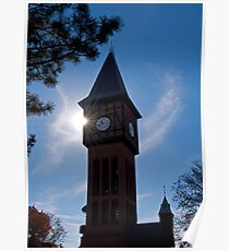 Clock Tower in Kentucky Poster