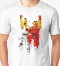 Sesame Street Fighter: Beryu & Kernie Unisex T-Shirt