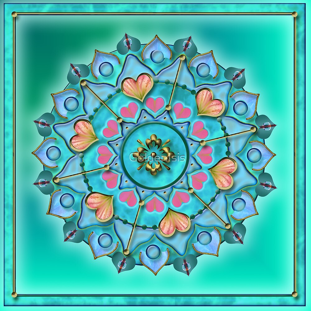 Higher Heart Chakra by GoldenIsis