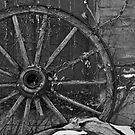 Broken  wheel by Sandra Guzman
