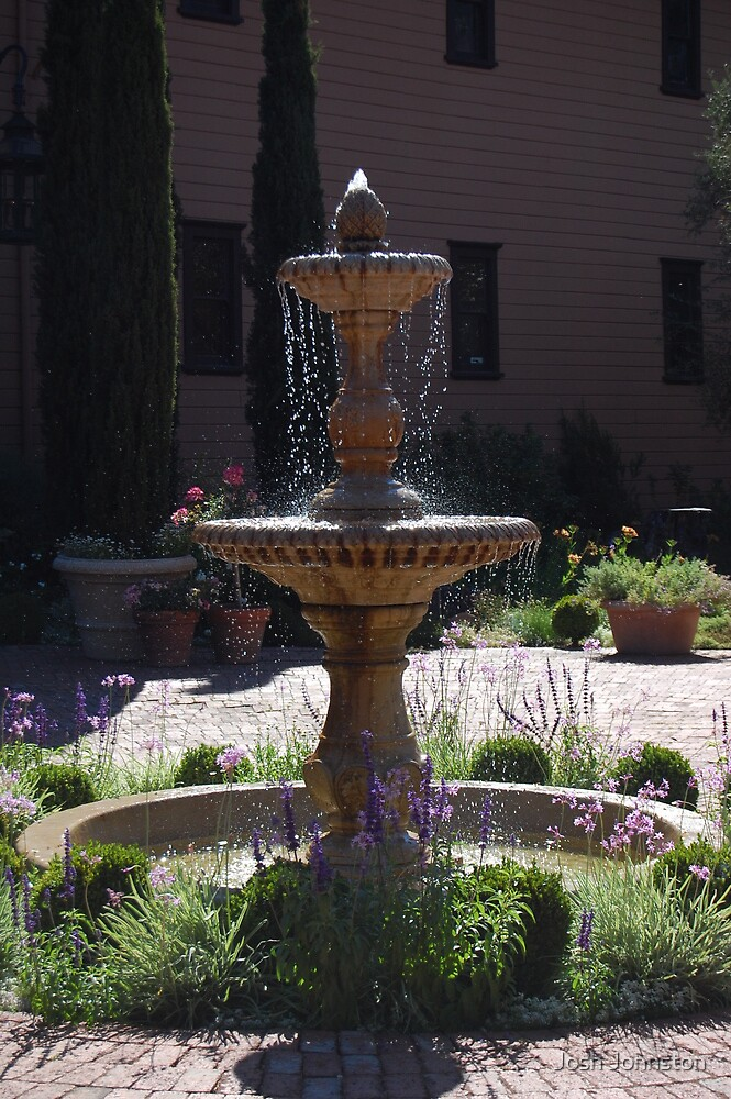 Fountain in SF by Josh Johnston