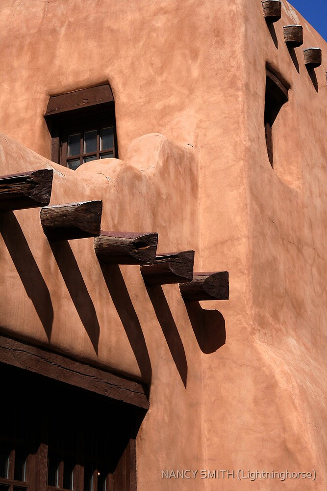 Late Day Santa Fe by NANCY SMITH (Lightninghorse)