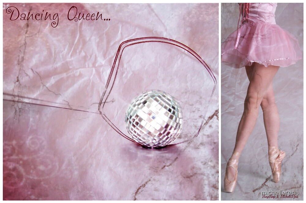Dancing Queen... Diptych by michellerena