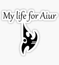 My life for Aiur [Version One] Sticker