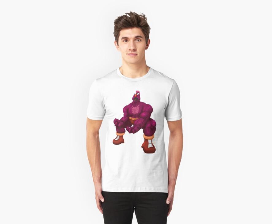 Sesame Street Fighter: Zellygief by gavacho13