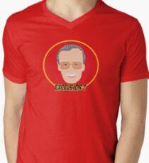 EXCELSIOR- STAN LEE Men's V-Neck T-Shirt