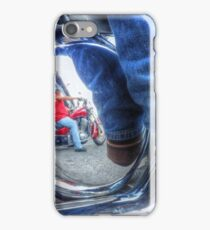 Denim, Boots & Chrome iPhone Case/Skin