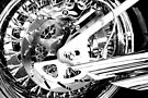 Rear Chromed Wheel by John Schneider