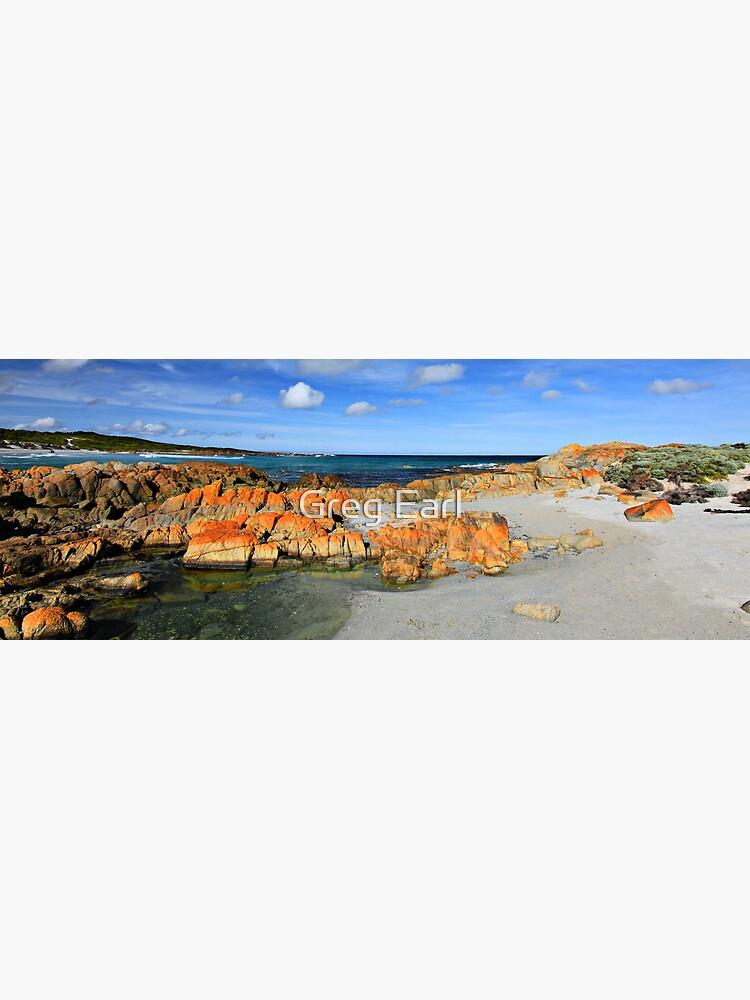 British Admiral Beach - King Island by GregEarl