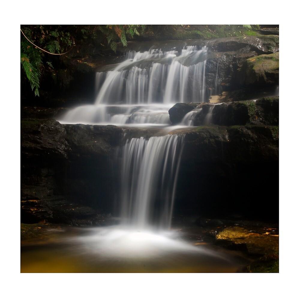 waterfall by stiddy