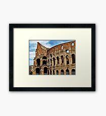 The Colosseum, Rome Framed Print