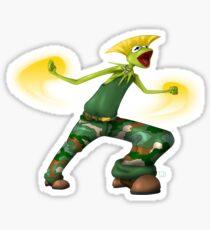 Sesame Street Fighter: Gurmit Sticker