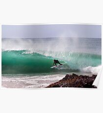 gold coast surfing Poster