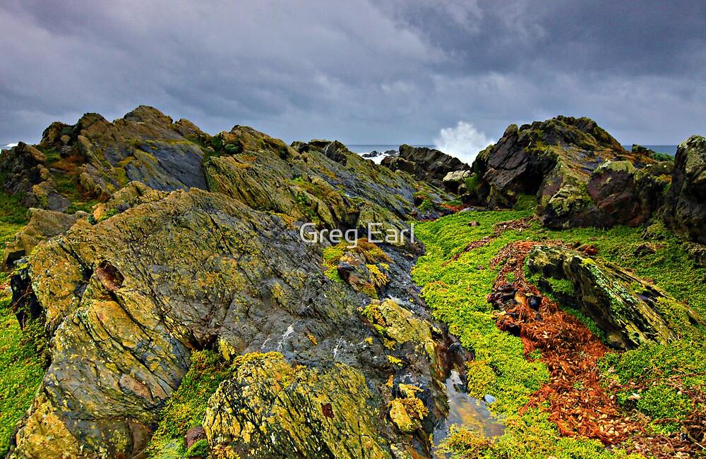 Coastal Storm - King Island by Greg Earl