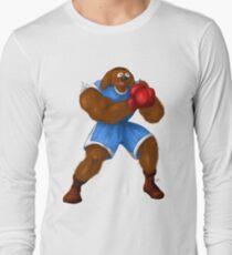 Sesame Street Fighter: Baldog Long Sleeve T-Shirt