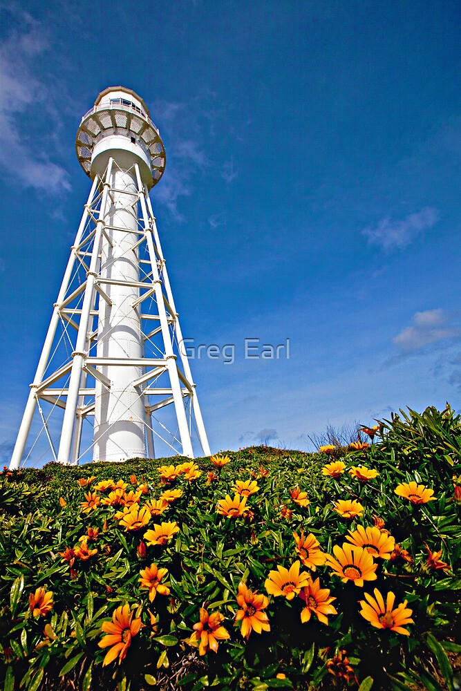 Currie Lighthouse - King Island, Tasmania by Greg Earl