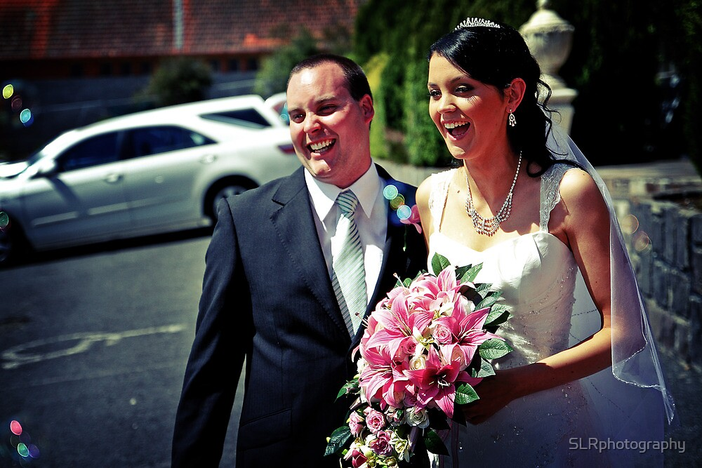 The Happy Couple by SLRphotography