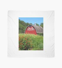 Barn Beyond the Garden Scarf
