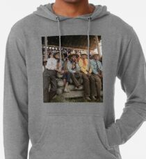 Crow Native Americans watching the rodeo at Crow fair in Montana, 1941 Lightweight Hoodie