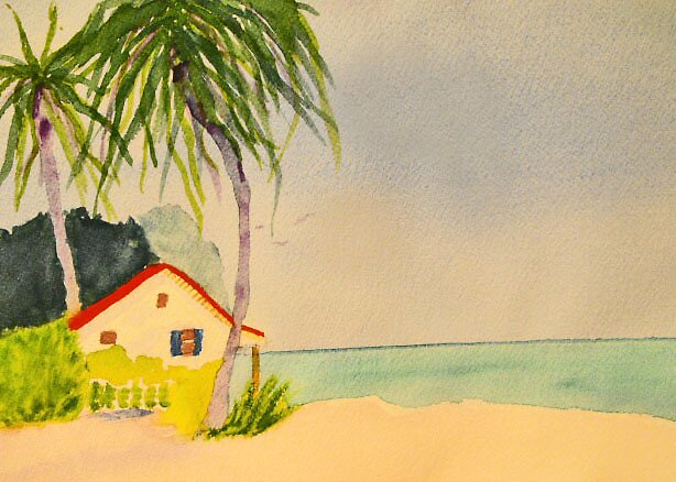 Tropical Home by Ashley  Parker