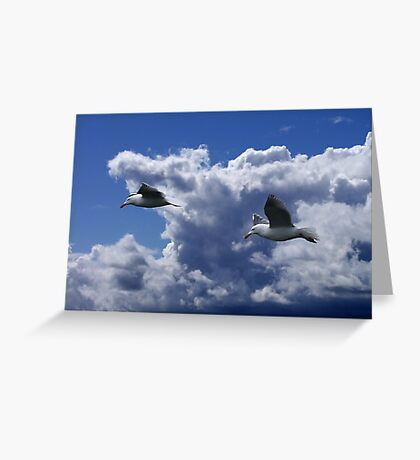 Wind Riders Greeting Card