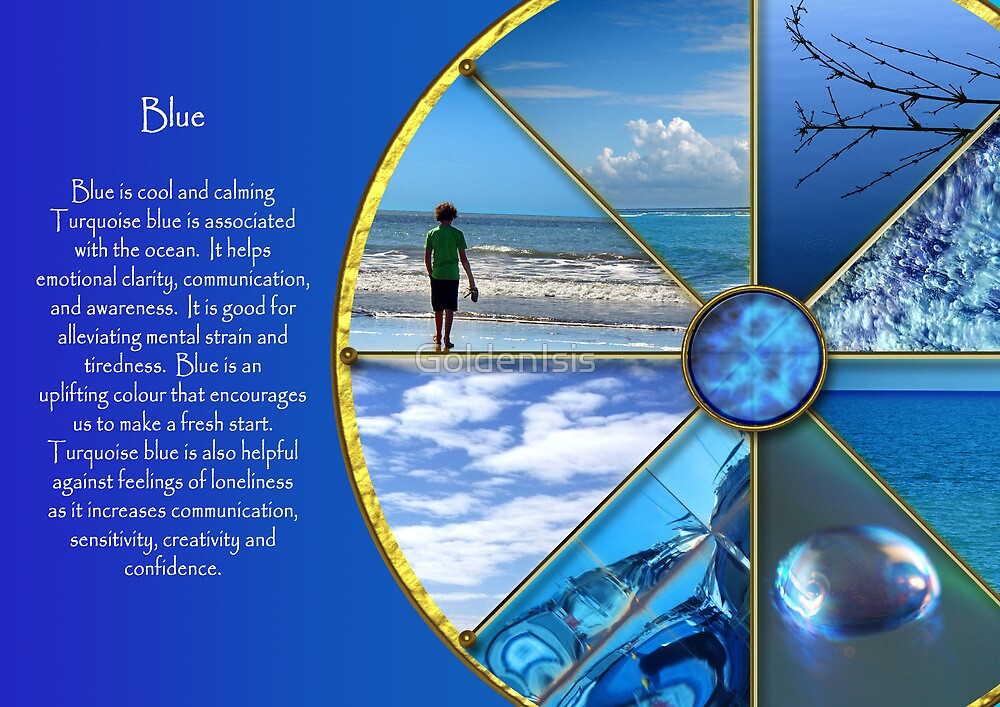 The colour blue by GoldenIsis