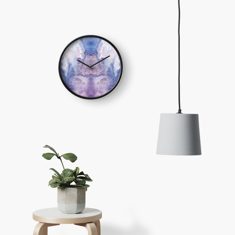 Purple Amethyst Clock