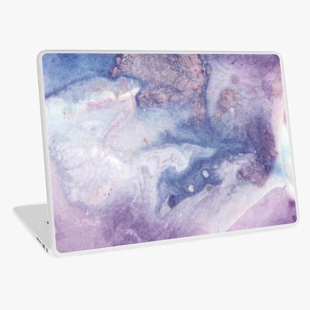 Purple Amethyst Laptop Skin