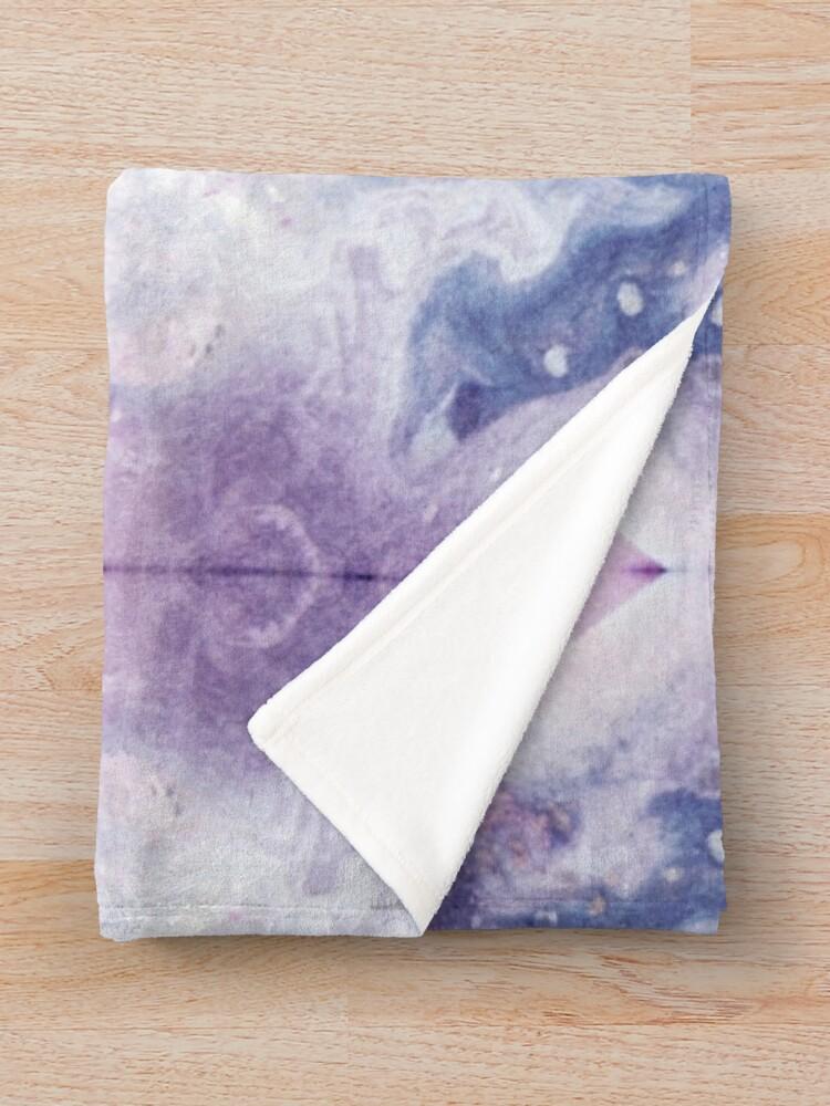 Alternate view of Purple Amethyst Throw Blanket
