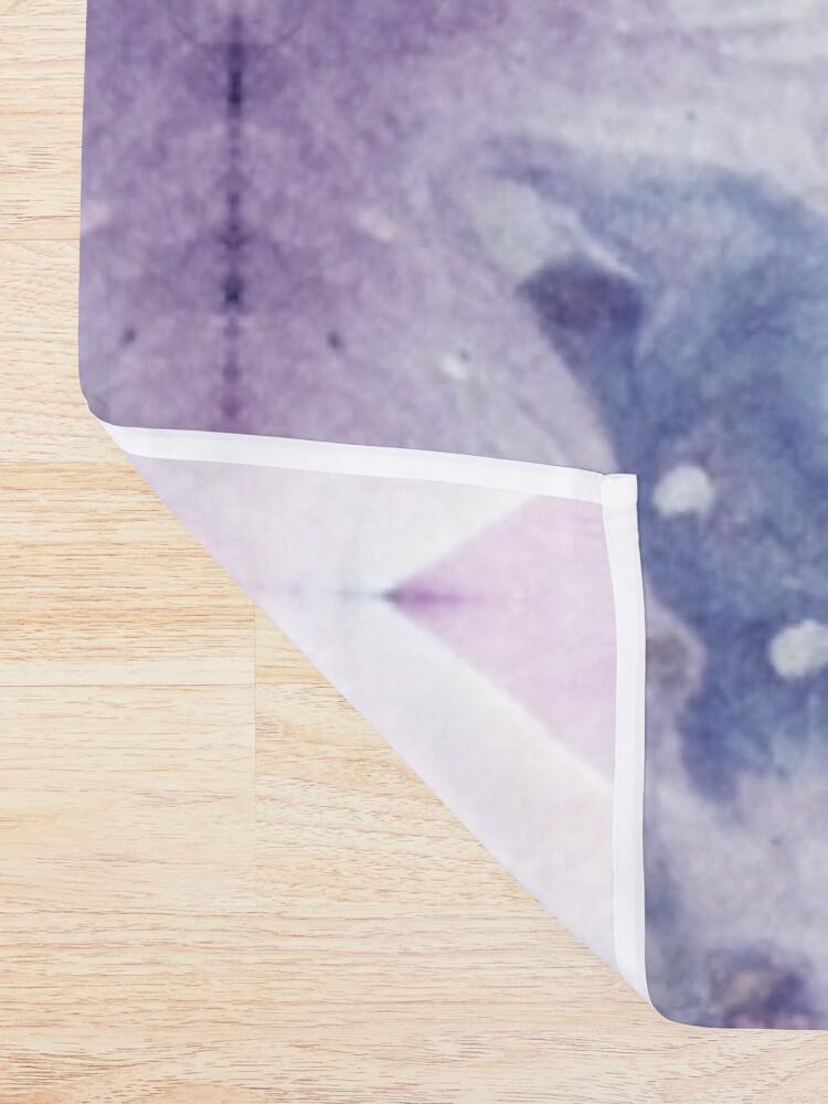 Alternate view of Purple Amethyst Shower Curtain