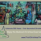 Christmas Card - Medieval Christmas Experience (TM) by FirstTree