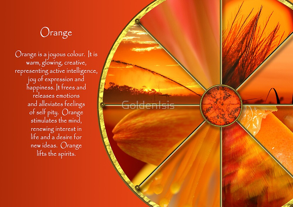 The Colour Orange by GoldenIsis