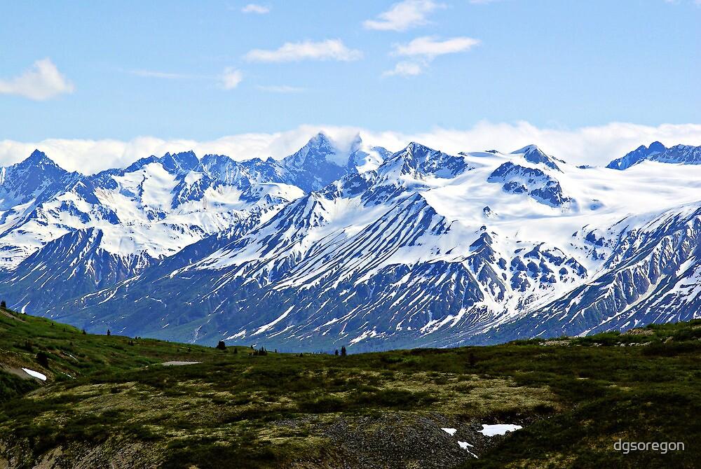 Saint Elias Mountains  Alaska & Canada  by Donald Siebel