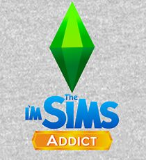 I'm The Sims Addict Kids Pullover Hoodie