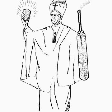Test Cricket Pontiff by crazyhorse