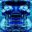 Blue Christmas by myrbpix