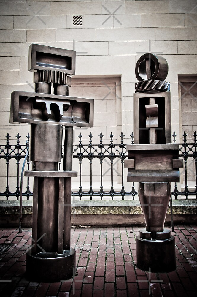 Adelaide Sculptures - Art Gallery of South Australia by Clintpix