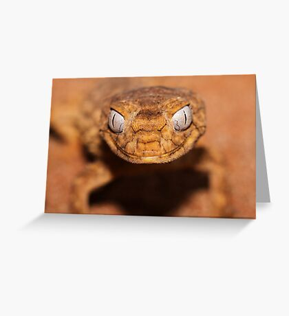 What mighty big eyes you have.. Greeting Card
