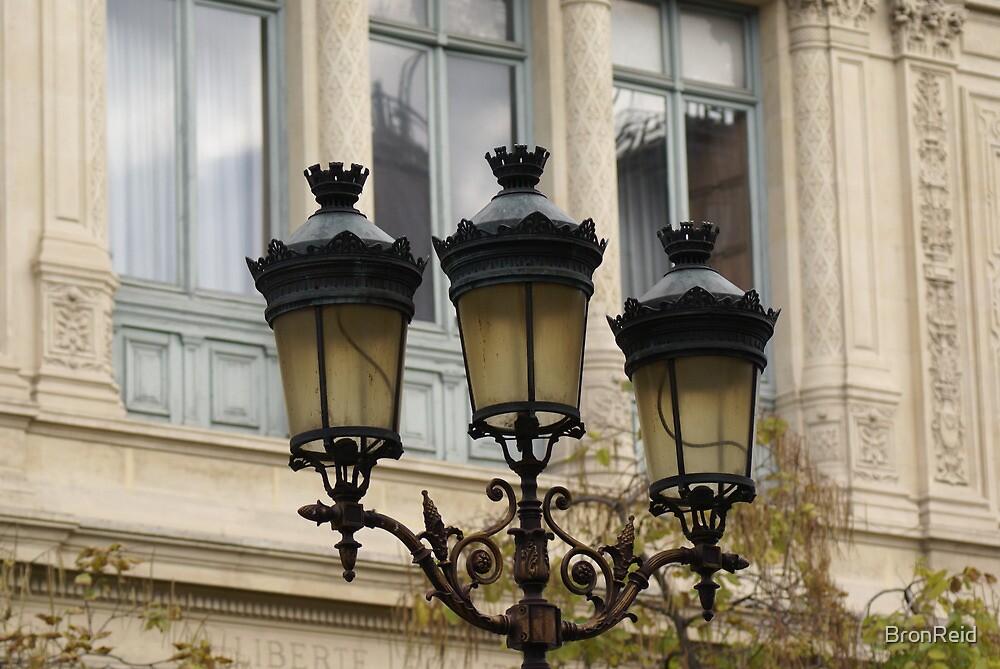 handsome street lamps on Ile de la Cite, Paris by BronReid
