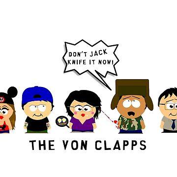 Von Clapps Mug White by dswarts
