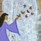 Butterfly Waterfall by Jane Neill-Hancock