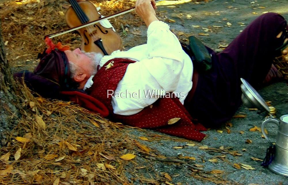 Drunken Minstrel by Rachel Williams