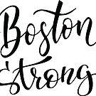 Boston Strong Boston hat mich großgezogen Massachusetts New England von ProjectX23