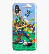 Woody vs the Little Guys iPhone Case/Skin