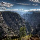 Black Canyon of the Gunnison by Ted Lansing