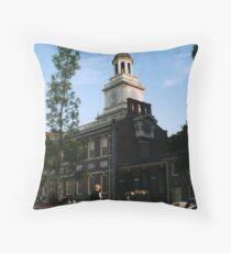 Historic USA Calendar cover Throw Pillow